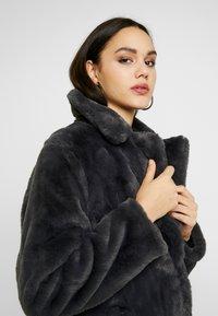 New Look - Krátký kabát - dark grey - 3
