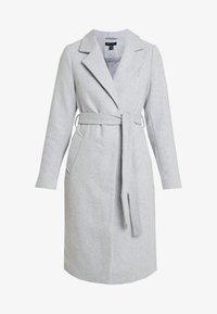 New Look - GABRIELLE BELTED COAT - Kåpe / frakk - light grey - 3