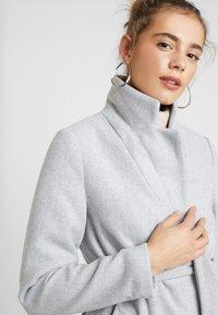 New Look - GABRIELLE BELTED COAT - Kåpe / frakk - light grey - 4