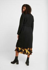 New Look - GABRIELLE BELTED COAT  - Zimní kabát - black - 2
