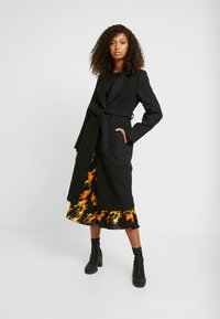 New Look - GABRIELLE BELTED COAT  - Zimní kabát - black - 1