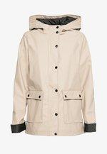 AMERIE RAIN - Waterproof jacket - camel