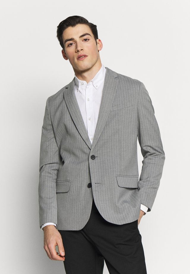 TONY PINSTRIPE - Colbert - light grey