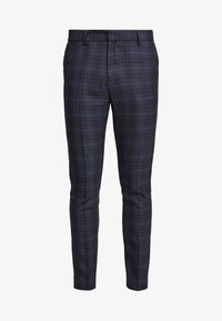 New Look - WILLIAM CHECK  - Pantaloni eleganti - navy