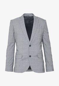 New Look - CHARLES CHECKSUIT - Sako - light grey - 5