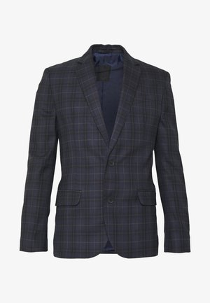 WILLIAM CHECK SUIT - Giacca elegante - navy