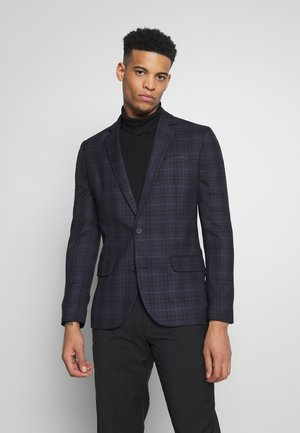 WILLIAM CHECK SUIT - Kavaj - navy
