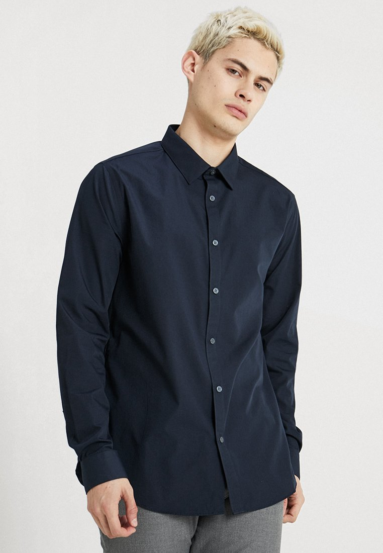 New Look - POPLIN - Camisa - navy