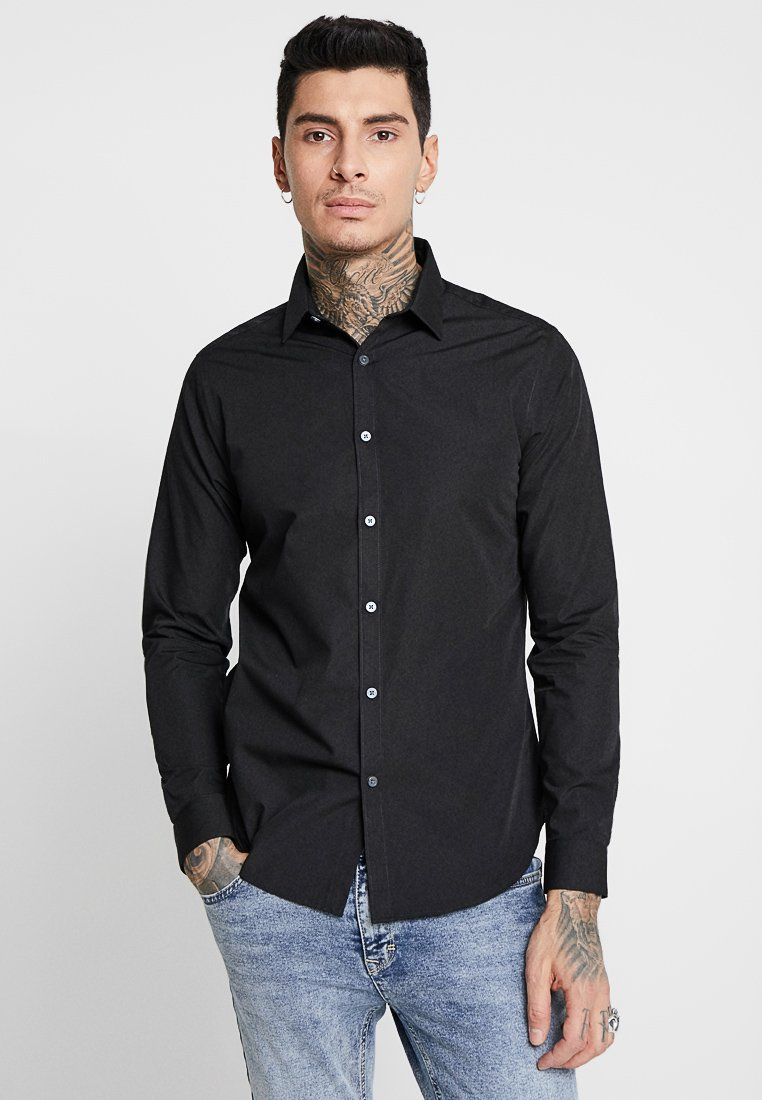 New Look - POPLIN - Hemd - black