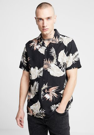 LEAFY LOUIS - Camisa - black