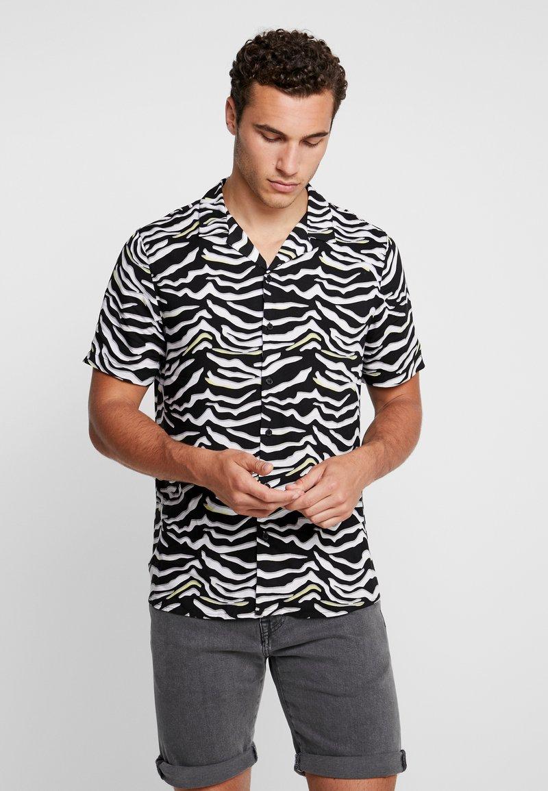 New Look - NEON ZEBRA  - Hemd - black pattern