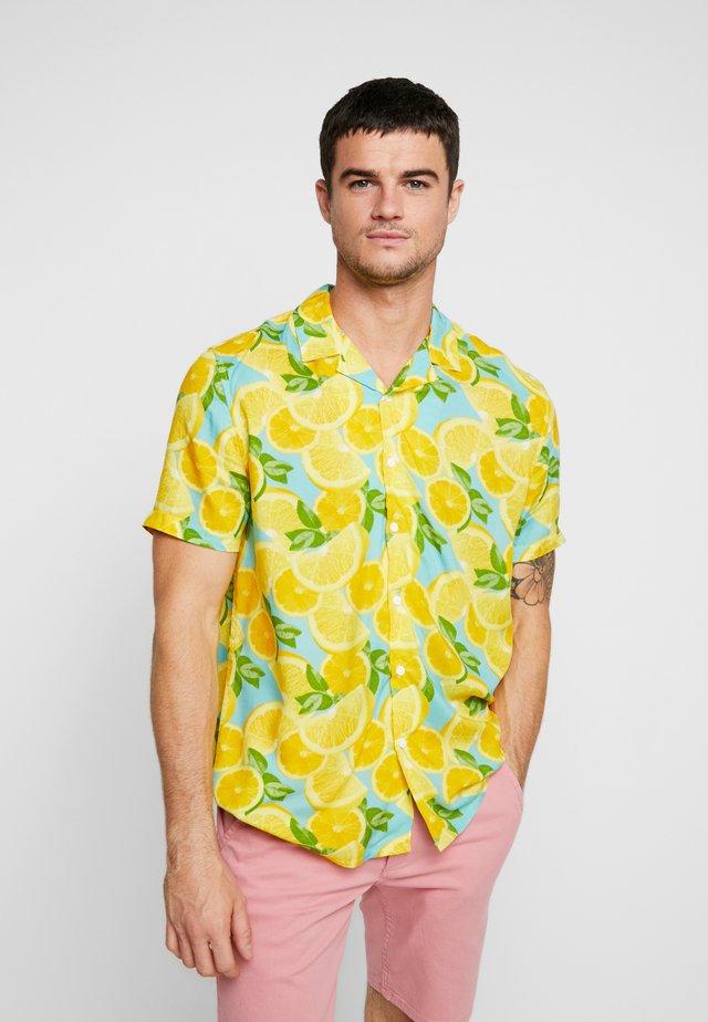 FRUITY LEMON - Overhemd - mid yellow