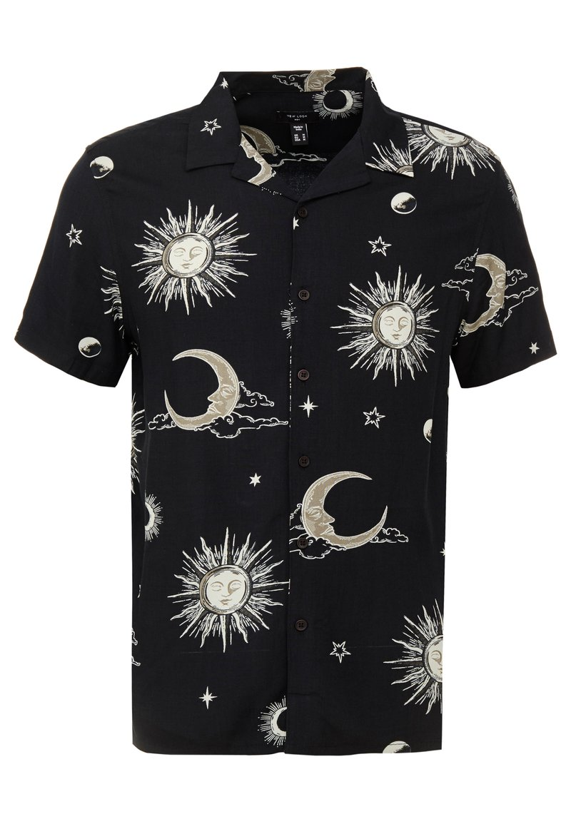 New Look - SUN MOON - Hemd - black