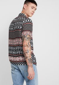 New Look - TRIBAL STRIPE - Shirt - black - 2