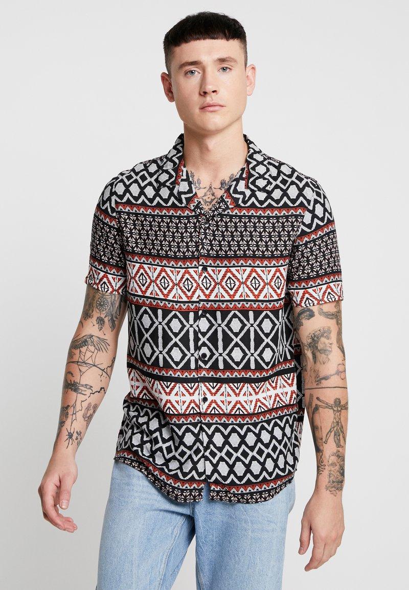 New Look - TRIBAL STRIPE - Shirt - black