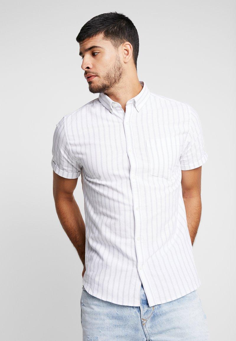 New Look - STRIPE OXFORD - Shirt - white