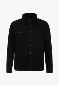 New Look - DOUBLE POCKET OVERSHIRT - Shirt - black - 3