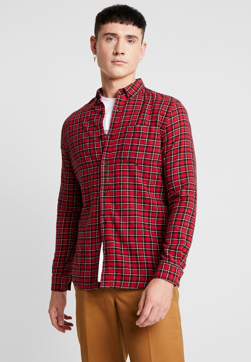 New Look - MINI CHECK - Shirt - red