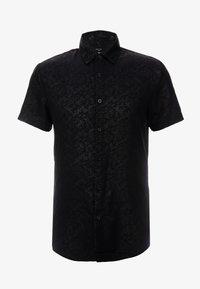 New Look - SATEEN SIMON PRINT - Shirt - black - 3