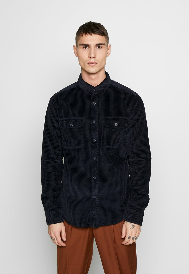 New Look - CHUNKY - Shirt - navy