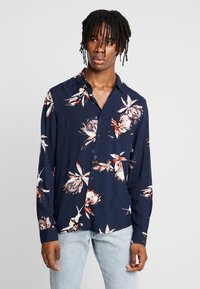 New Look - PROTEA FLORAL - Camisa - navy - 0