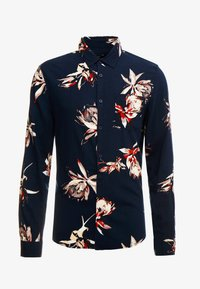 New Look - PROTEA FLORAL - Overhemd - navy - 3