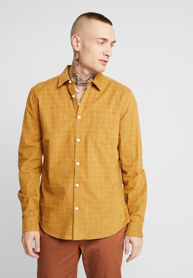 Overhemd - dark yellow