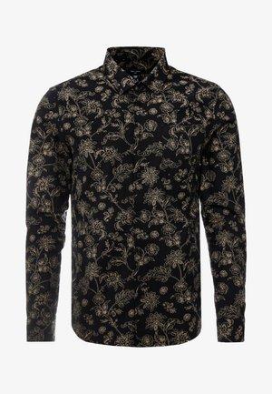JACOBEAN FLORAL - Camicia - black