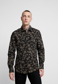New Look - JACOBEAN FLORAL - Camicia - black - 0