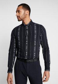 New Look - RPASO SOFIA TRIBAL STRIPE - Shirt - black - 0