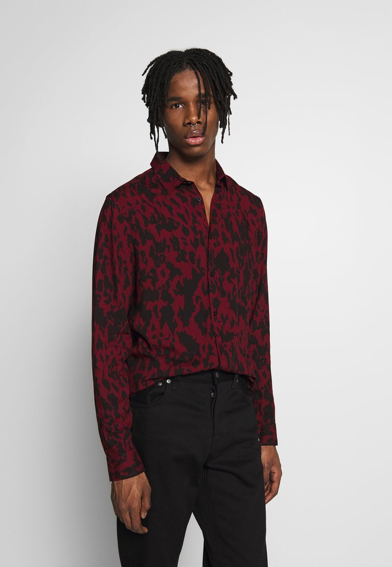 New Look - Shirt - dark burgundy