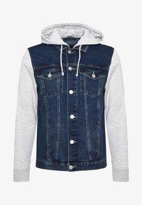 New Look - SLEEVE - Veste en jean - light blue - 3
