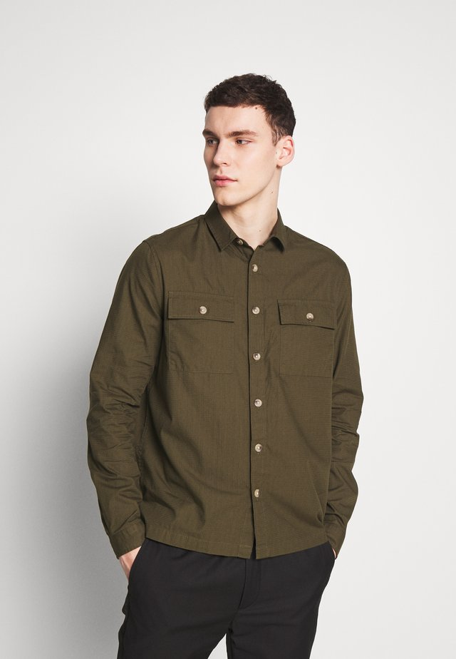 RIPSTOP SHACKET - Formal shirt - dark khaki