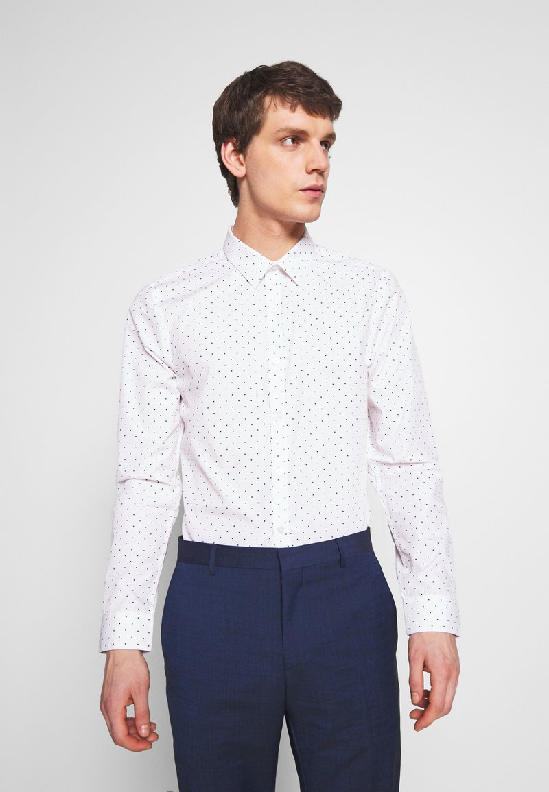 New Look - POLKA DOT - Camicia elegante - white