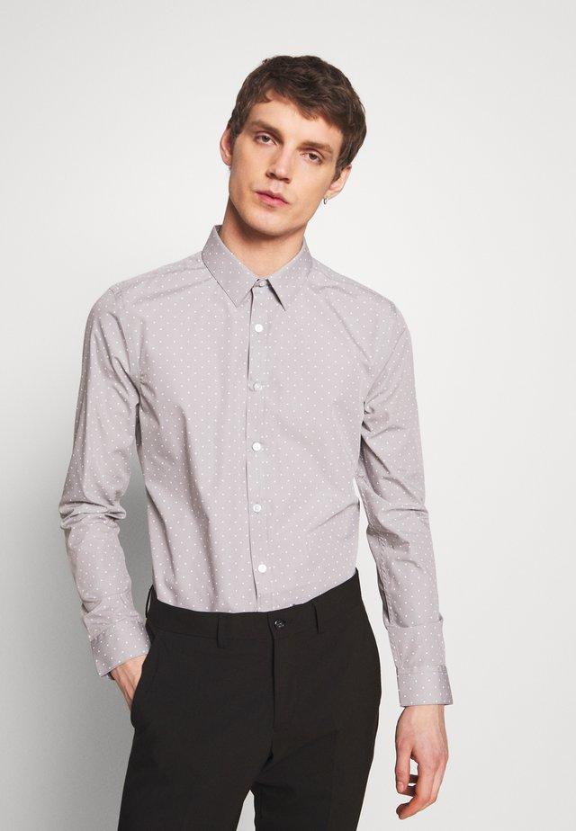 POLKA DOT - Formal shirt - mid grey