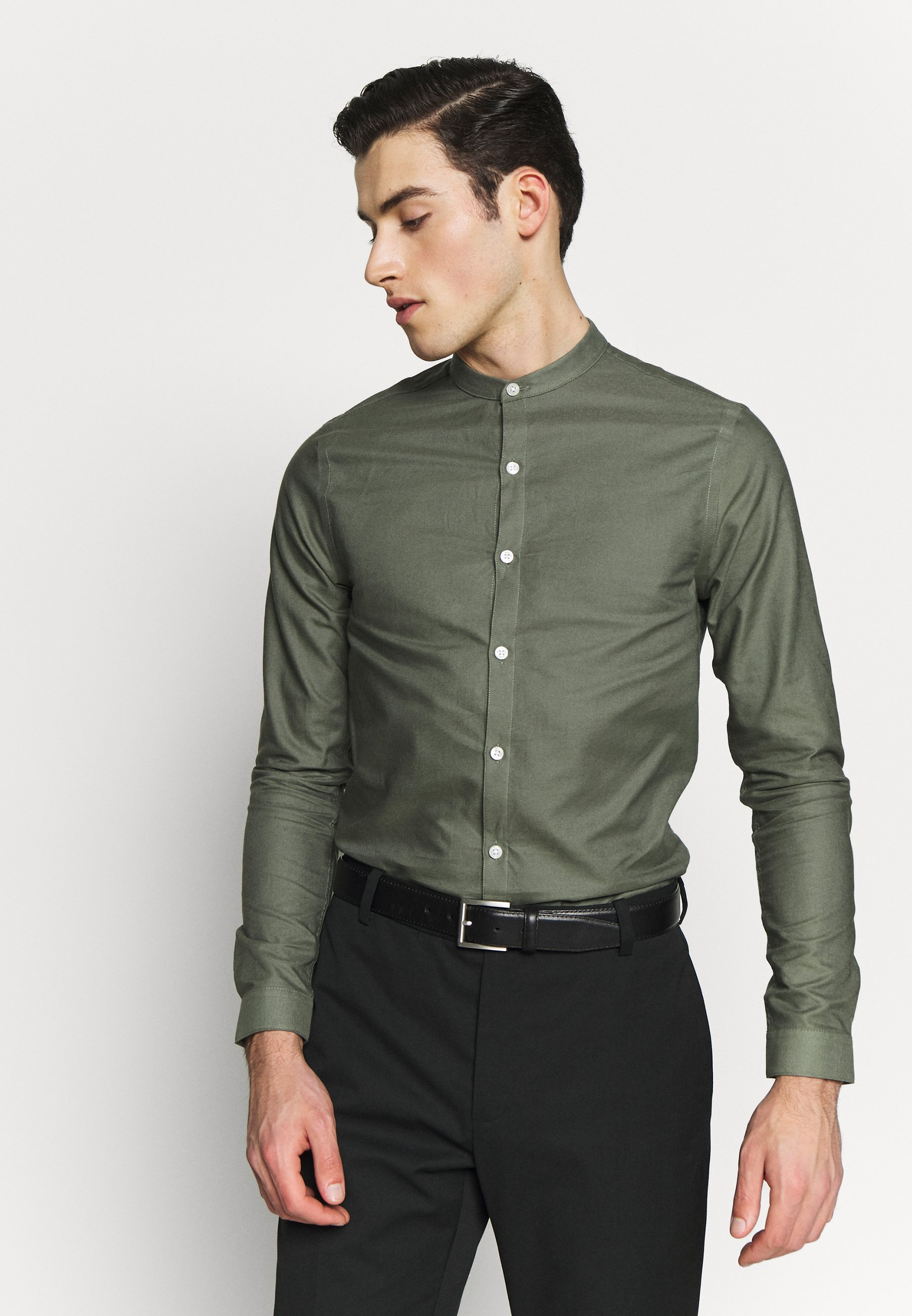 New Look GDAD OXFORD - Camicia - dark khaki