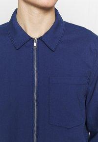 New Look - ZIP THRU SHACKET - Overhemd - indigo - 5