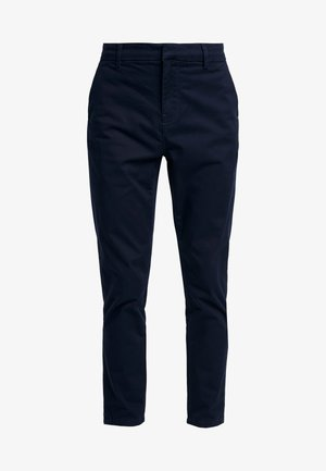 PLAIN TROUSER - Chinos - navy