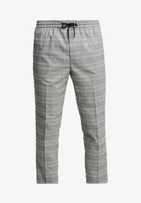 New Look - NEW HAMILTON SLIM CROP - Trousers -  grey - 4