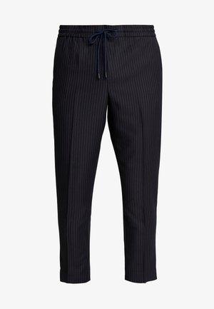 CROP - Pantalon classique - black