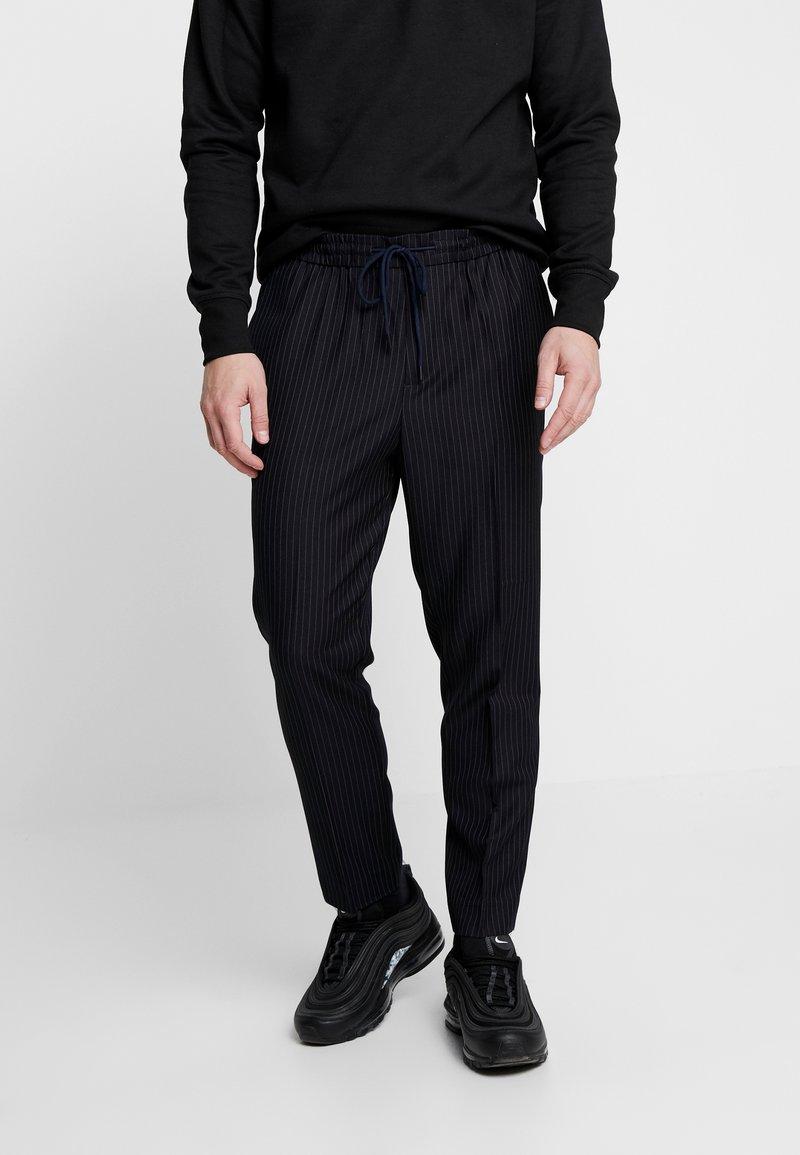 New Look - CROP - Trousers - black