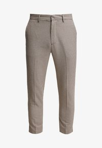 New Look - PUPPYTOOTH TROUSER - Pantalones - brown - 3