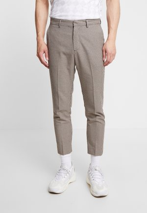 PUPPYTOOTH TROUSER - Pantaloni - brown