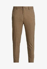 New Look - ARCHIE MINI CHECK  - Pantaloni - camel - 4