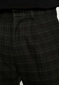 New Look - HARRISON TARTAN  - Trousers - black - 3