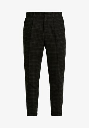 HARRISON TARTAN  - Trousers - black