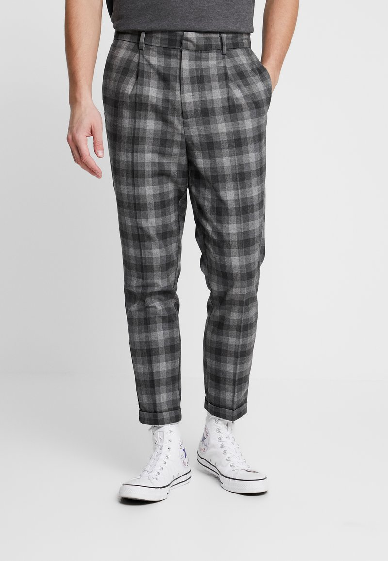 New Look - CHARLIE  - Trousers - grey