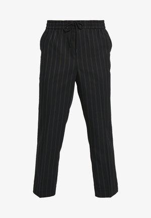 CROP FITZ  - Trousers - black
