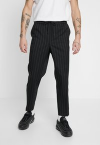 New Look - CROP FITZ  - Trousers - black - 0