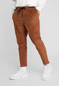 New Look - PULL ON TROUSER - Trousers - tan - 0